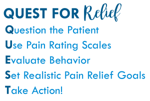 QUEST for Relief pain relief goals